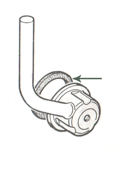 crankcase breather seal gs  a