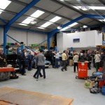 Customers were welcome to come and look around the workshop