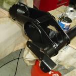 Shot blasted and powder coated rear subframe