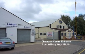 Chevronic Centre Citroen and Peugeot Entrance