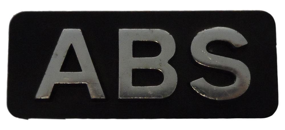 Citroen ABS Metal Badge BX