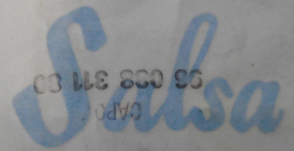 Citroen AX Salsa Graphic Sticker
