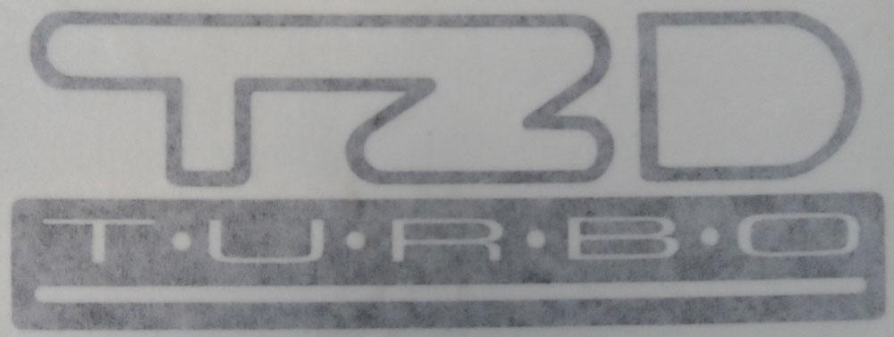 Citroen BX TZD Graphic Sticker
