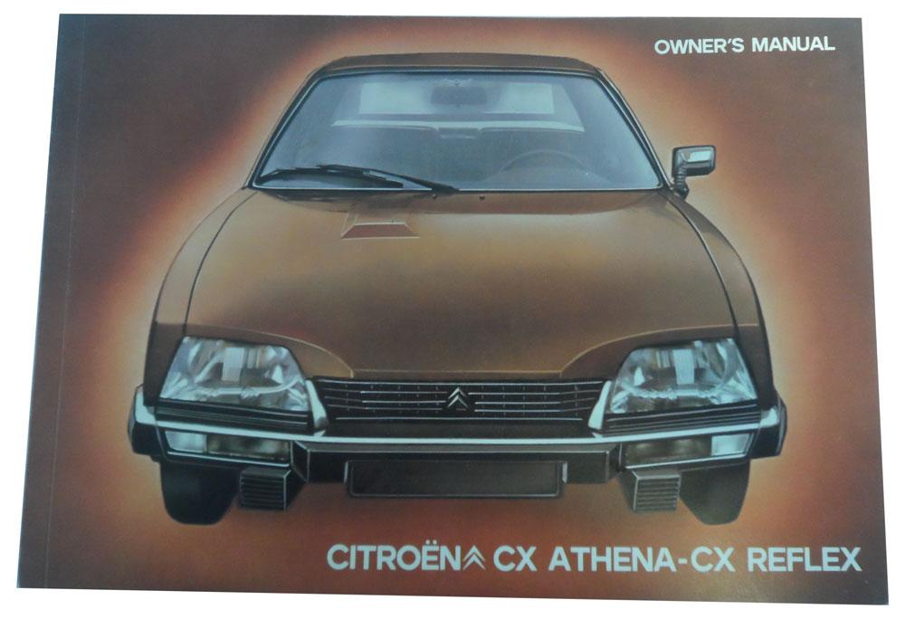 owner s manuals citroen cx athena and cx reflex the chevronic centre rh chevronics co uk citroen cx user manual Citroen SM