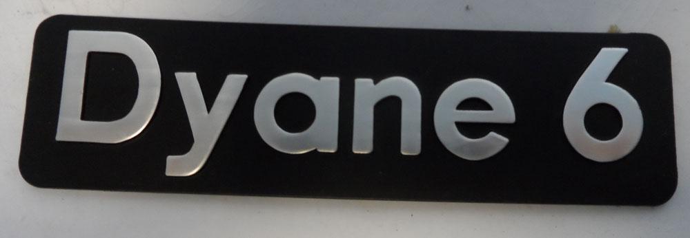 Citroen Dyane Badge
