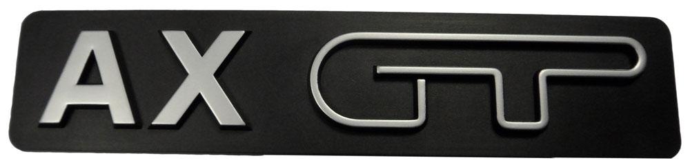 Citroen AX GT Badge